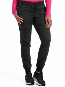 Med Couture Jogger Yoga Pant XS/P-XL/T - Pure Hearts Scrubs