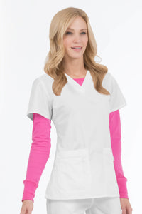 Women's Olivia V-Neck Scrub Top
