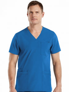 MEN'S PERFORMANCE 4 POCKET TOP - Pure Hearts Scrubs