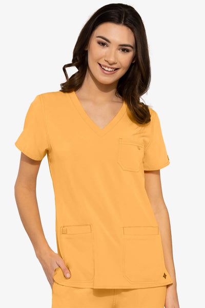 V-NECK 3 POCKET TOP - Pure Hearts Scrubs
