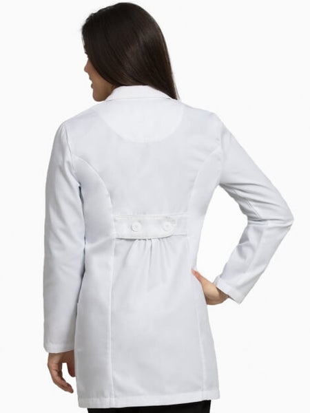 "Women's Belted 33"" Lab Coat - Pure Hearts Scrubs"