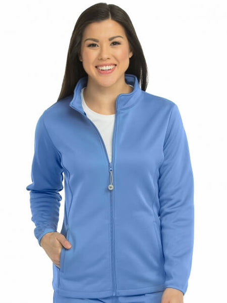 FLEECE MED TECH JACKET - Pure Hearts Scrubs