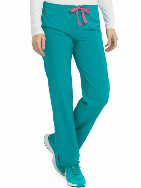 Women's Grace Drawstring Classic Scrub Pant Petite-Tall - Pure Hearts Scrubs