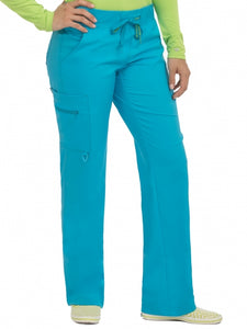 Women's Transformer Knit Waistband Drawstring Scrub Pant Tall - Pure Hearts Scrubs
