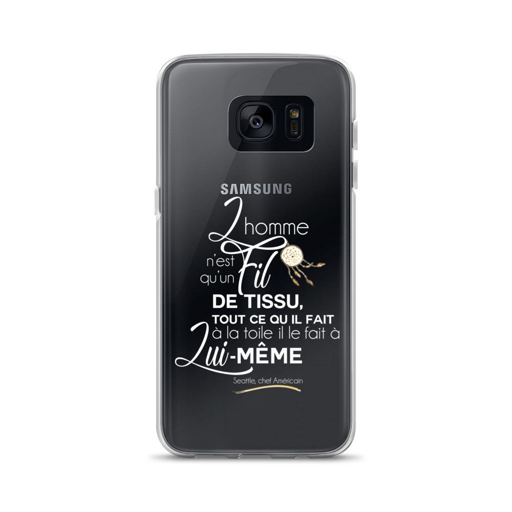 Coque Samsung - Seattle (blanc)