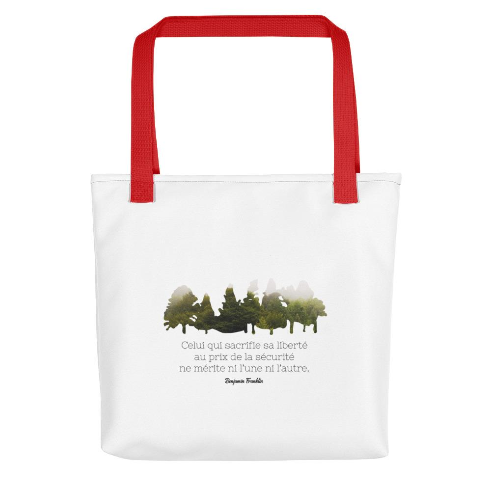 Tote bag - Benjamin Franklin