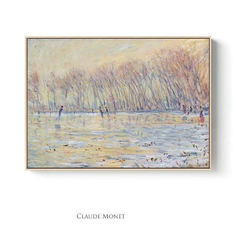Toile Claude Monet