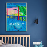 Toile David Hockney