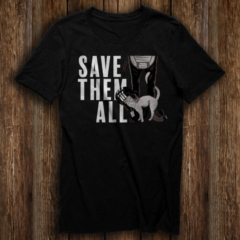 Save Them All Charity Tee