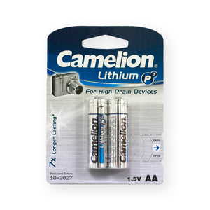 Camelion Lithium AA 2Pack