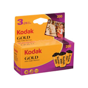 Kodak Gold 200 135/24 3pk Card