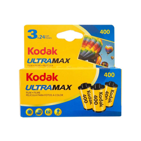 Kodak UltraMax 400 135/24 3-Pack Card
