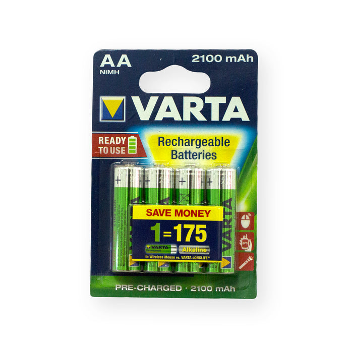 Varta Rechargeable AA 4Pack