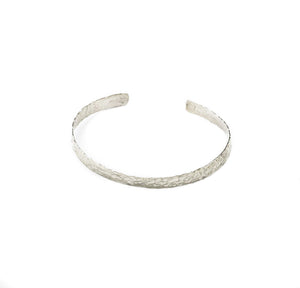 CMG Cuff Hammered Sterling Silver & Gold