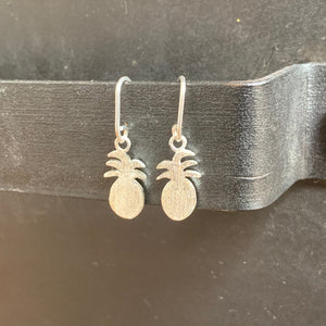 The Petite Pineapple Earrings | Silver