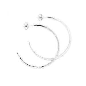 Baby Warren Hoops - Sterling Silver
