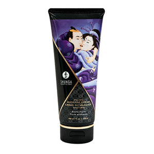 Shunga Kissable Massage Creams 200ml/7fl.oz - Exotic Fruits