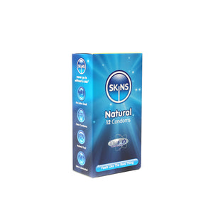 Skins Condoms Natural 12 Pack