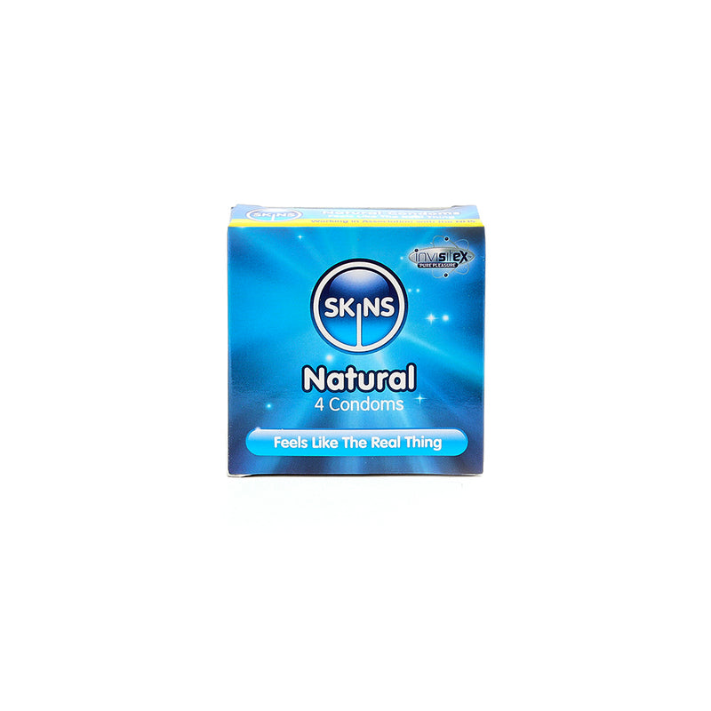 Skins Condoms Natural 4 Pack