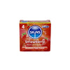 Skins Condoms Strawberry 4 Pack