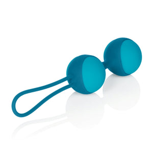 Key by Jopen Mini Stella II Double Kegel Ball Set Robin Egg Blue