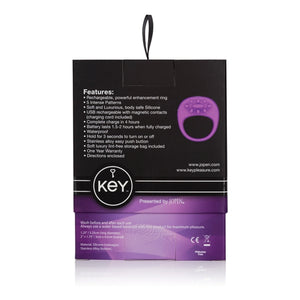 Key by Jopen Ela Enhancer USB Ring Lavender