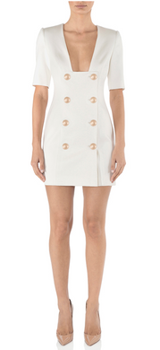 Misha- Kira Blazer Dress Ivory