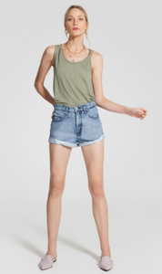 Nobody Denim - Linen knotted Tank