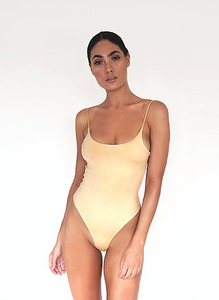 HAUS - The Icon Bodysuit in Nude
