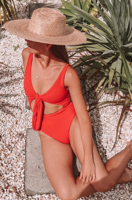 Suboo - Giselle Cut out Front One Piece