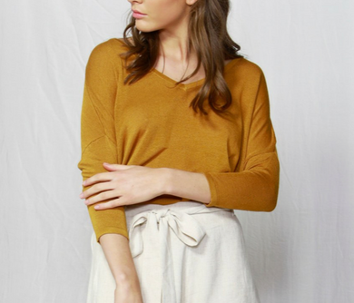 Fate and Becker - Savannah Linen Blend Jumper