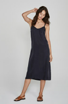 Honey Midi Dress Navy