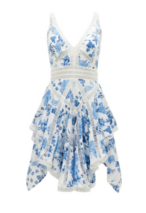 Thurley - Summer Breeze Bluebell Dress