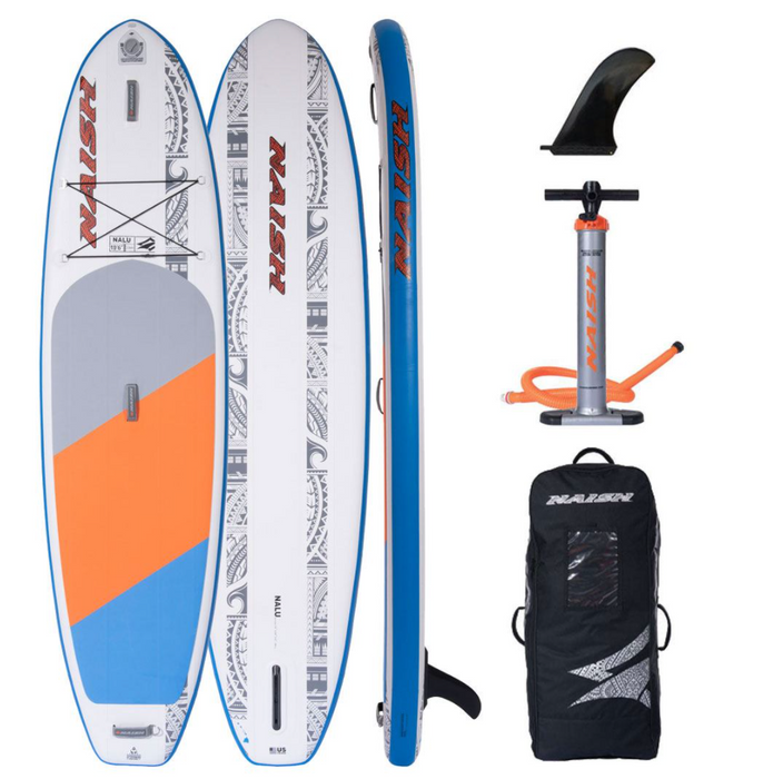 "Naish Nalu 10'6"" X32 Soft Top - Elite Watersports"