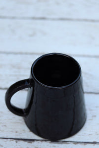 Black Glazed Matcha Mug
