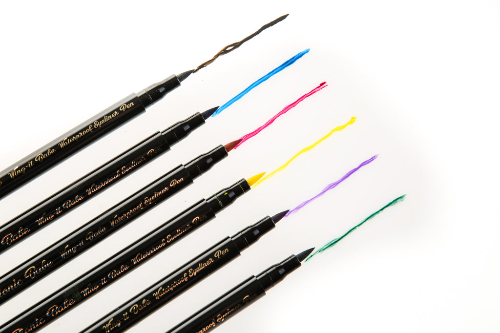 Wing It Babe Waterproof Eyeliner Precision Pen (Choose From 6 Colours)