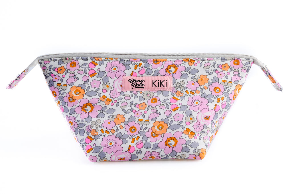 FLOWER MAKE-UP BAG