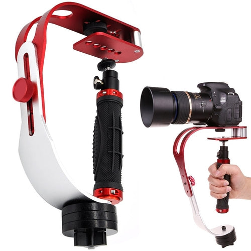 (TODAY 50% OFF)PRO Video Camera stabilizer for GoPro, Smartphone, Canon, Nikon - or Any Camera