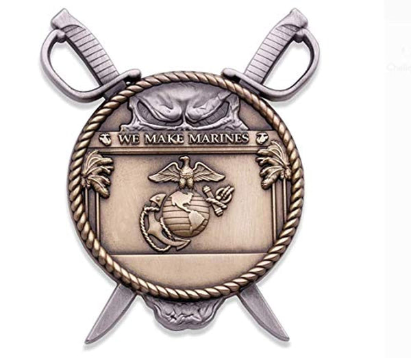 Marine Corps Crucible Challenge Coin - Officially Licensed Military Coin