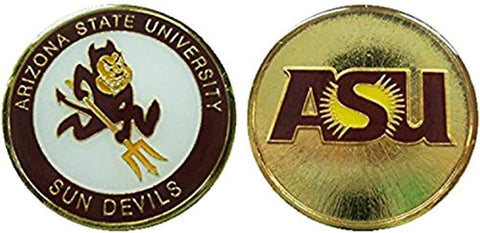 "Arizona State University ""Sun Devils"" Collectible Challenge Coin"
