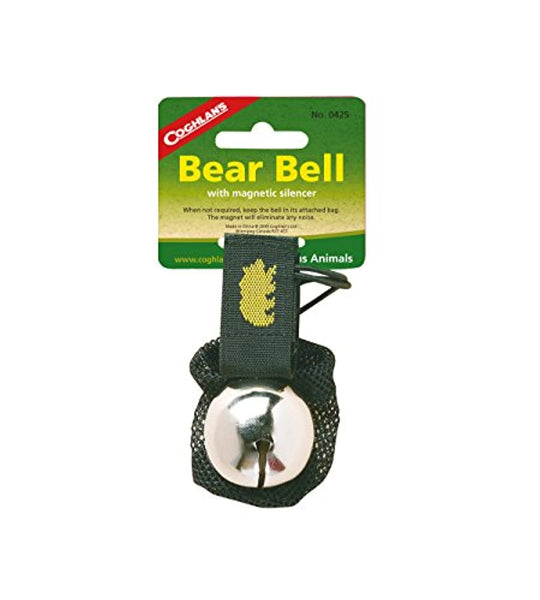 Coghlan's Bear Bell with Magnetic Silencer - Prevent4life