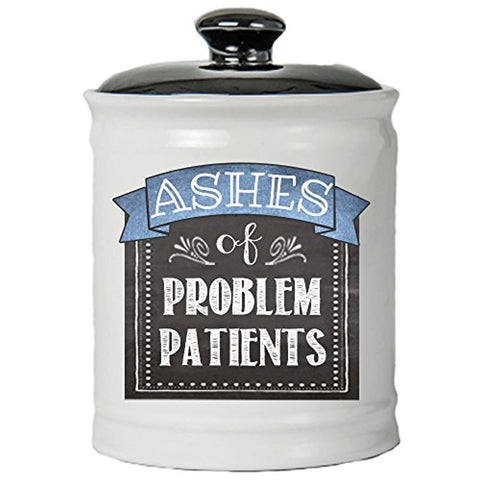 Ashes of Problem Patients Novelty Coin Bank Jar