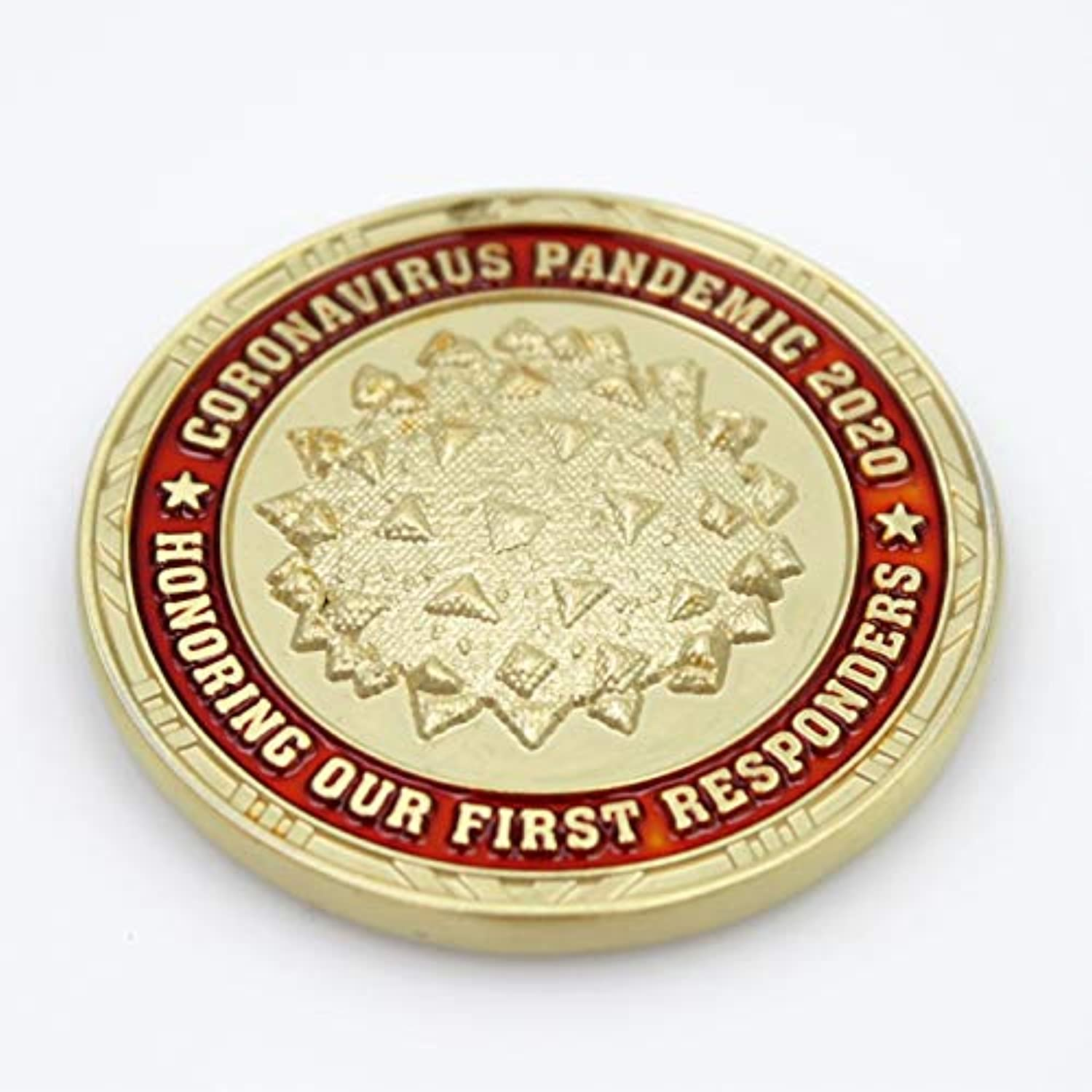 COVID 19 First Responders Thank You Challenge Coin