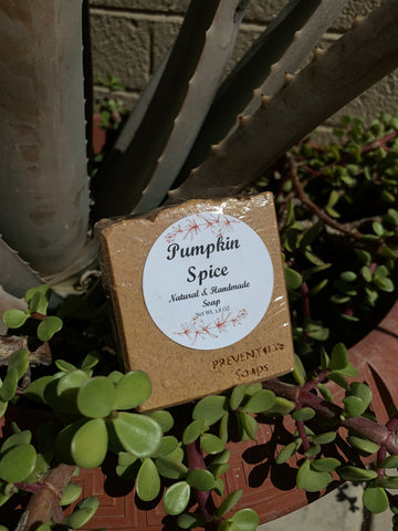Pumpkin Spice Handmade Bar Soap