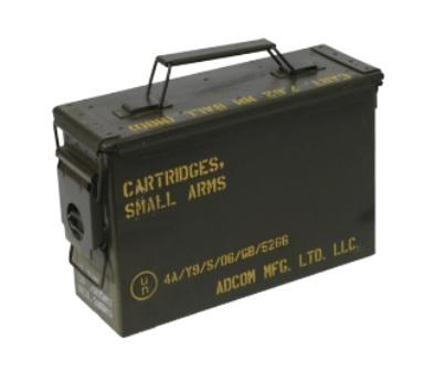 Ex Australian Army 30 Cal Tracer Boxes
