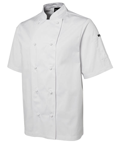 JB's Wear - 5CJ - S/S Unisex Chefs Jacket - White / Black