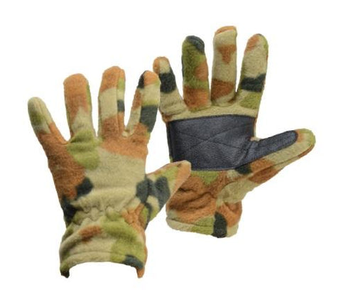 Auscam Fleece Gloves