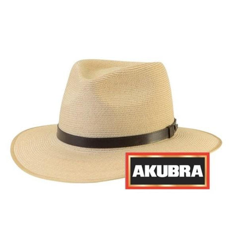 Akubra - Balmoral Hat - Natural - Surplus City
