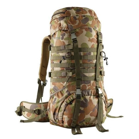 Caribee Cadet Pack 65L Auscam Rucksack - Surplus City
