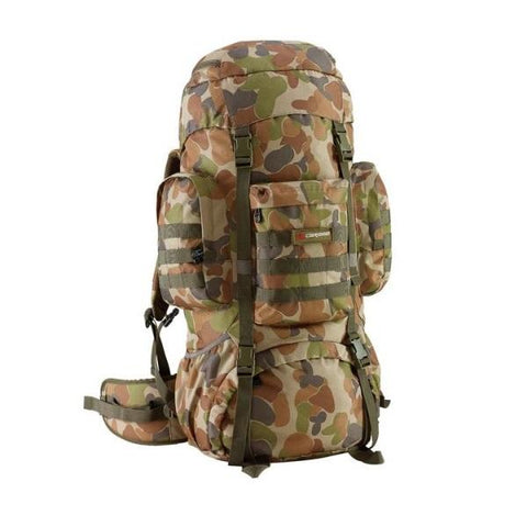 Caribee Platoon 70L Auscam Rucksack - Surplus City